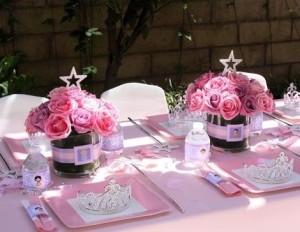 Centros de mesa para fiesta